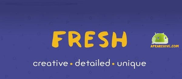Fresh – Icon Pack v1.1.4 APK