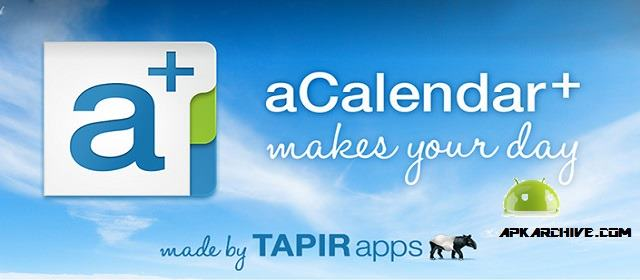 aCalendar+ Calendar & Tasks v1.15.3 APK