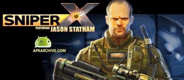 SNIPER X WITH JASON STATHAM v1.4.2 [MOD] APK