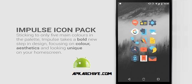 Impulse Icon Pack v1.1.0 APK