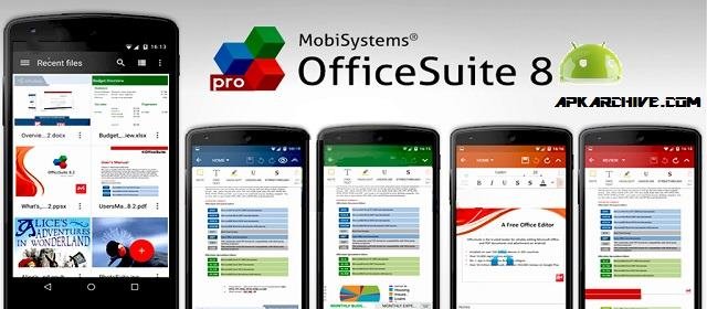 OfficeSuite 8 + PDF to Word apk