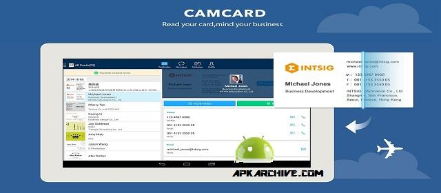 CamCard – Business Card Reader v7.12.1 APK