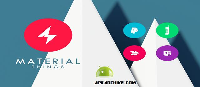 Material Things Colorful Theme v2.8.0 APK