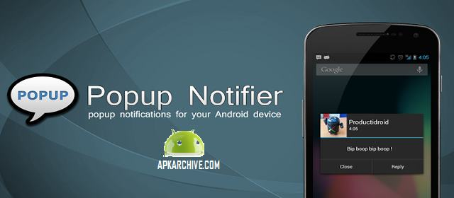 Popup Notifier v8.1.6 APK