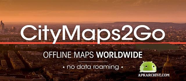 City Maps 2Go Pro Offline Maps v4.11.1 APK