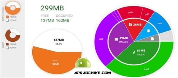 Disk & Storage Analyzer [PRO] Apk