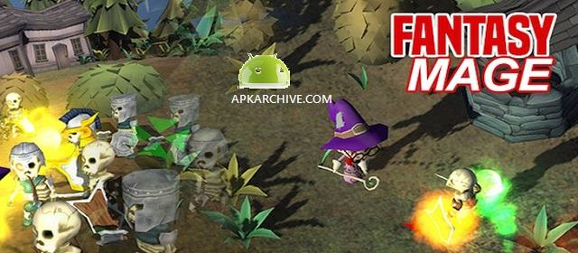 Fantasy Mage - Defeat the evil Apk