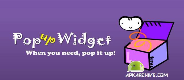 Popup Widget apk