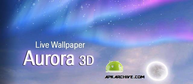 Aurora 3D Live Wallpaper apk