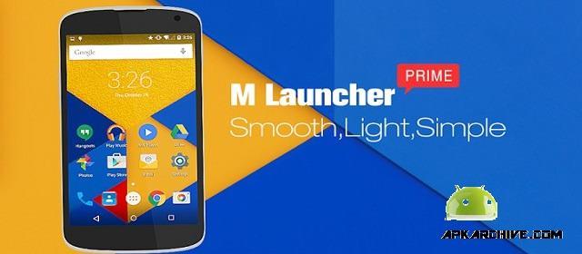 M Launcher Pro-Marshmallow M Apk
