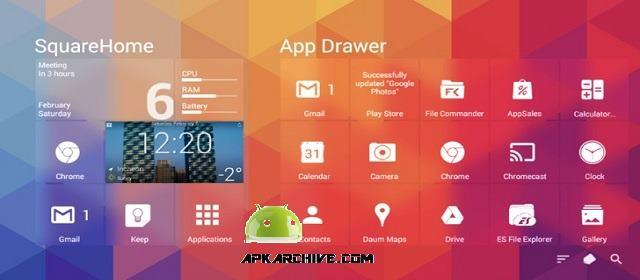SquareHome 2 Premium (launcher) Apk