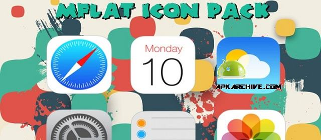 MFlat Icon Pack Apk