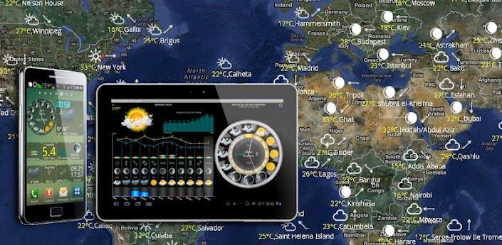 eWeather HD, Radar HD, Quakes apk