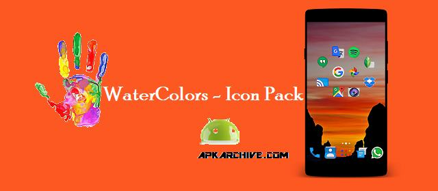 WaterColors - Icon Pack Apk