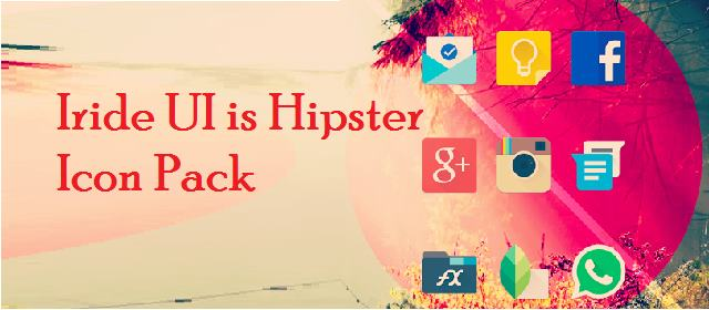 Iride UI is Hipster Icon Pack v1.4.2 APK