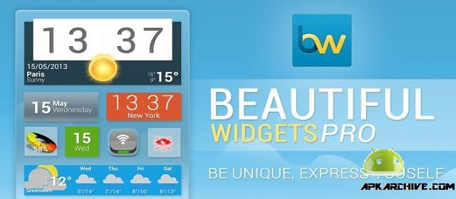 Beautiful Widgets Pro v5.7.7 APK