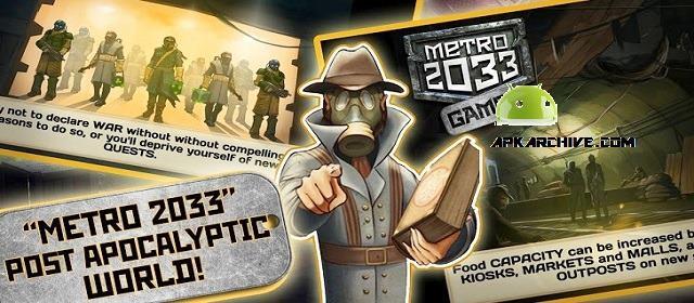 Metro 2033: Wars v1.1.0 APK