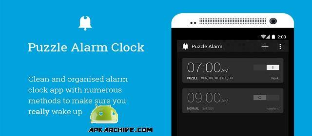 Puzzle Alarm Clock PRO apk