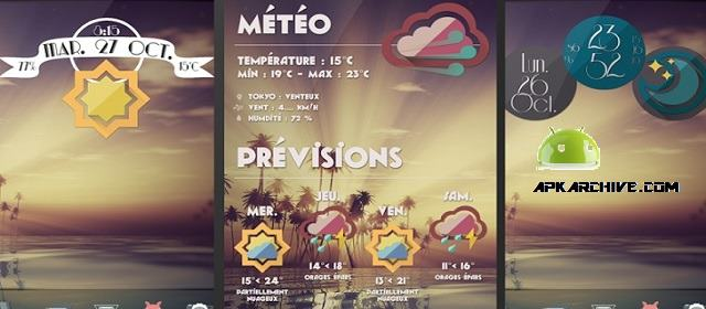 Retro Meteo Widgets by LP Apk