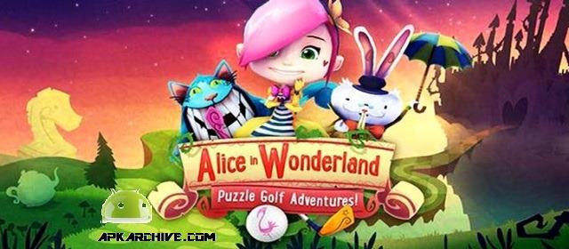 Alice in Wonderland PuzzleGolf Apk