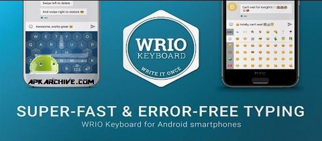 WRIO Keyboard (+Emoji) Apk