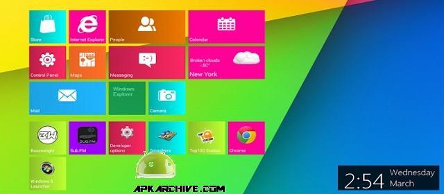 Metro UI Launcher 8.1 Pro Apk