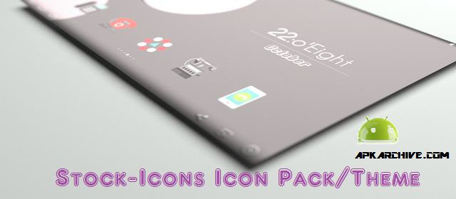 Stock-Icons Icon Pack/Theme Apk