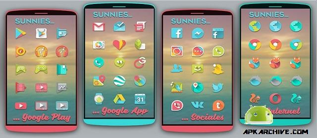 Sunnies Icon pack Apk