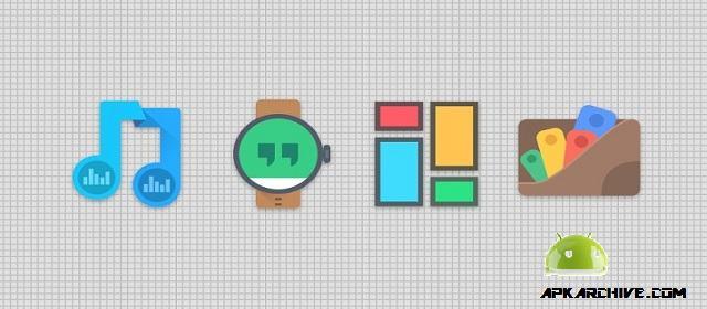 Crispy Dark – Icon Pack v1.0.0 APK