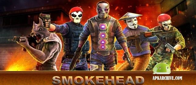 SmokeHead - FPS Multiplayer Apk