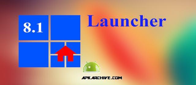 8.1 Metro Look Launcher Pro Apk