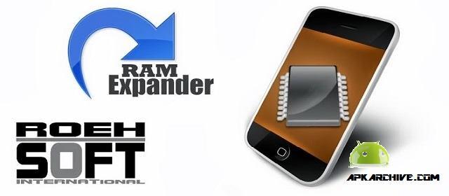 ROEHSOFT RAM Expander (SWAP) v3.63 APK