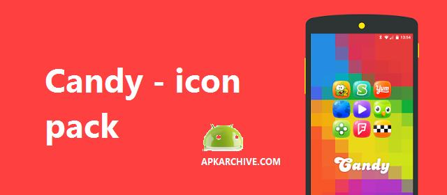 Candy - icon pack Apk