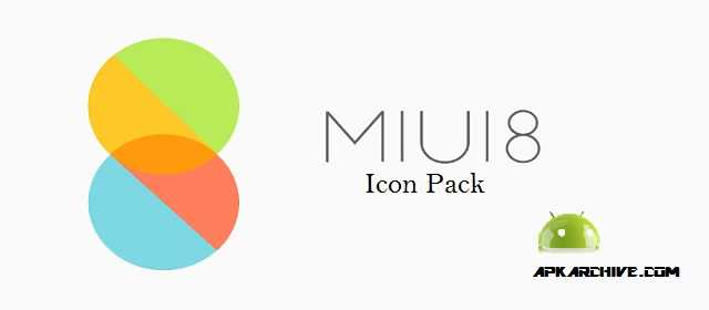 MIUI 8 - Icon Pack Apk