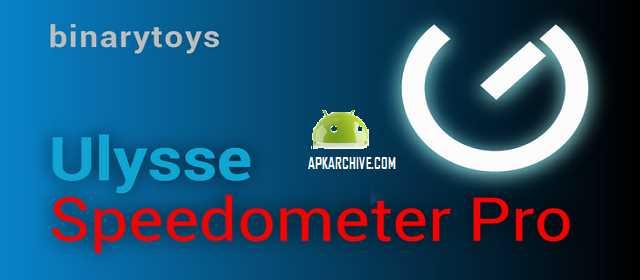 Ulysse Speedometer Pro v1.9.29 APK