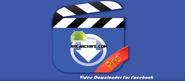 Video Downloader for Facebook Pro Apk
