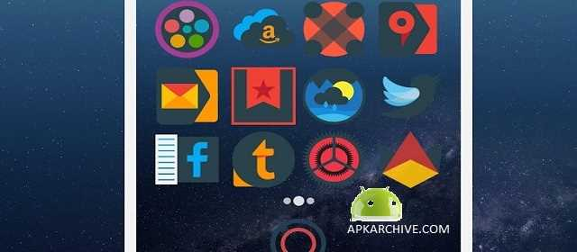 Mellow Darkness - Icon Pack Apk