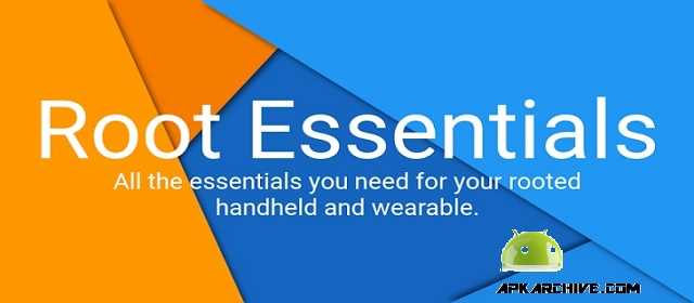 Root Essentials Premium Apk