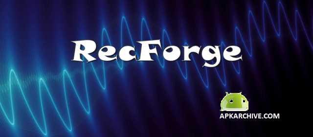RecForge II Pro Audio Recorder Apk