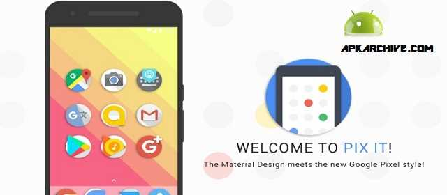 Pix it – Icon Pack v1.3 APK