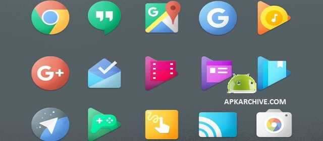 Chromatin UI - Icon Pack Apk