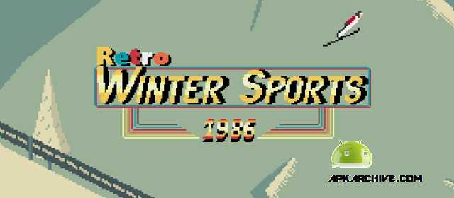 Retro Winter Sports 1986 Apk