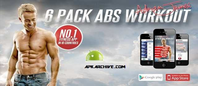 Adrian James 6Pack Abs Workout apk