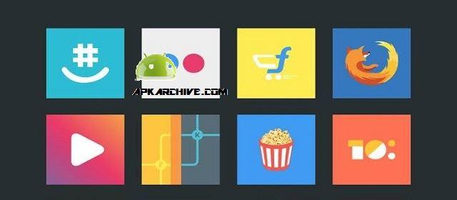 Flatout Minimal IconPack Theme Apk