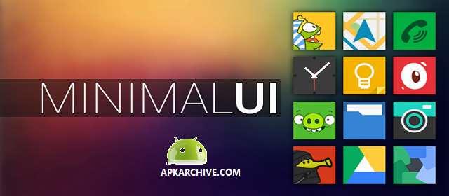 Minimal UI Go Nova Apex Theme apk