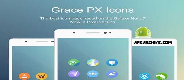 Grace Pixel UX – Icon Pack v1.9.4 APK