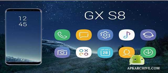 GX S8 Icon Pack Apk