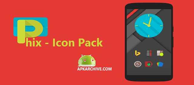 Phix - Icon Pack Apk