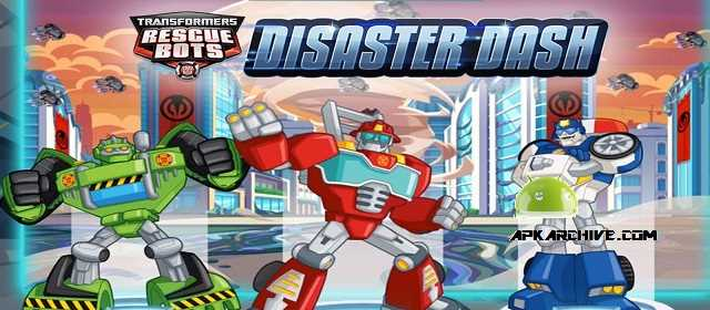 Transformers Rescue Bots: Dash Apk