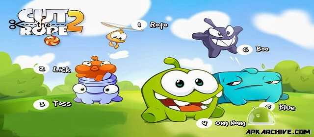 Cut the Rope 2 v1.8.2 [Mod] APK